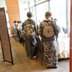 2016年10月16日 着物でランチ会@KKRホテル熊本ロータスガーデン