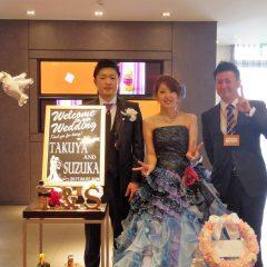 17/04/02 TAKUYA様&SUZUKA様結婚披露宴&二次会@フィガロ