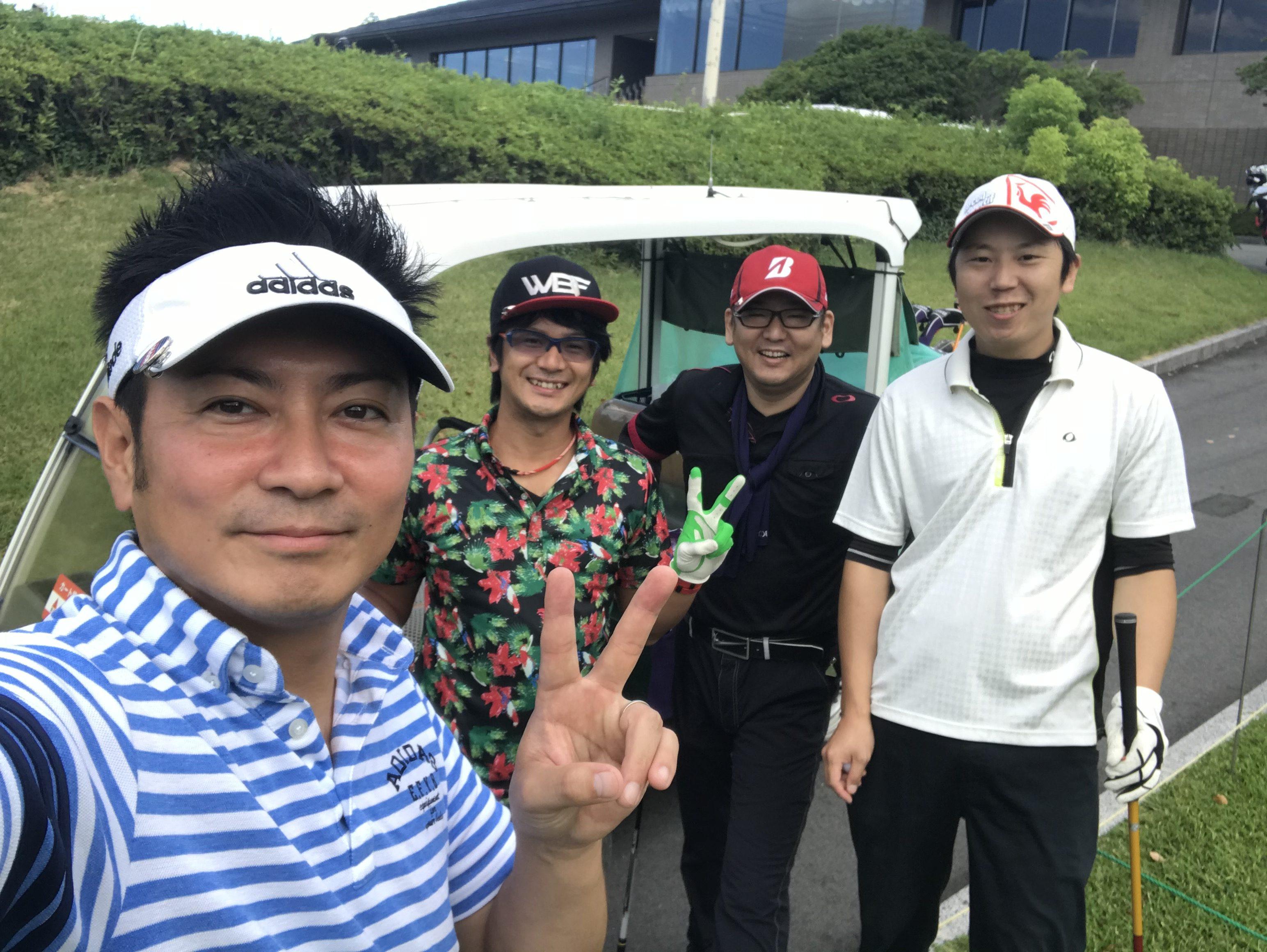 ゴルフコンペ