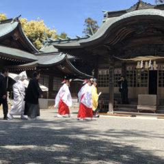 健軍神社1